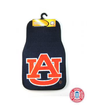 Auburn Tigers Officially Licensed 17x27 Carpet NCAA Car Mats Set-0
