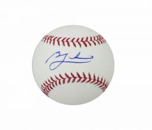 Ben Zobrist Signed Chicago Cubs Rawlings Official Major League Baseball - JSA-16220