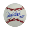 """Johnny Bench Autographed/Signed Official Rawlings Major League Baseball with """"HOF 89"""" Inscription-0"""