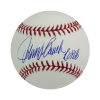 """Johnny Bench Autographed/Signed Official Rawlings Major League Baseball with """"68 ROY"""" Inscription-0"""
