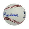 "Johnny Bench Autographed/Signed Official Rawlings Major League Baseball with ""75-76 WS Champs"" Inscription-13082"