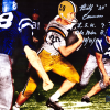 """Billy Cannon Signed LSU Tigers Iconic 8x10 Color Photo With """"LSU 7 Ole Miss 3 10/31/59"""" Inscription-0"""