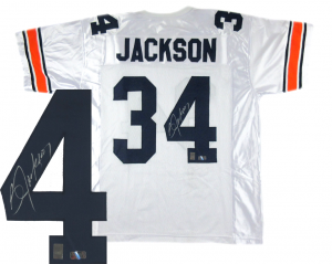 Bo Jackson Signed Auburn Tigers White Custom Jersey-0