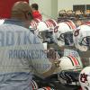Bo Jackson Autographed/Signed Auburn Tigers Schutt Full Size NCAA Helmet-12179