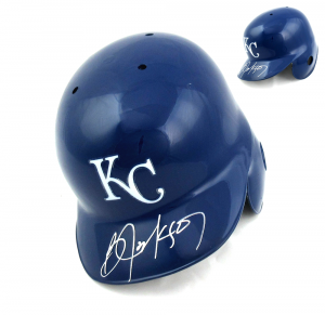 Bo Jackson Signed Kansas City Royals Rawlings MLB Batting Helmet-0