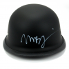 "Tommy Flanagan ""Chibs Telford"" & Mark Boone Jr ""Bobby Munson"" Autographed/Signed Black Matte Daytona Authentic Biker Helmet-324"