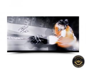 Brayden Schenn Signed 36x18 Photo - Philadelphia Flyers-0