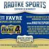 Brett Favre Signed Green Bay Packers Framed 8x10 Black & White NFL Photo - Tunnel-24062