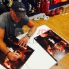 """Brett Favre Autographed/Signed Green Bay Packers Iconic 16x20 NFL Photo with """"Last to Wear 4"""" Inscription - LE of 44-626"""