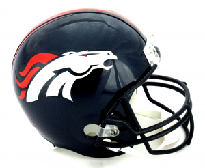 Denver Broncos Riddell Full Size Replica NFL Helmet-0