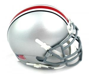 Ohio State Buckeyes Schutt NCAA Mini Helmet-0