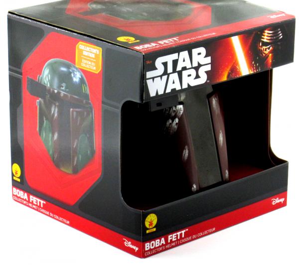 Jeremy Bulloch Signed Star Wars Boba Fett Disney Collector's Edition Mask - In Box-9274