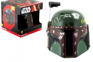 Jeremy Bulloch Signed Star Wars Boba Fett Disney Collector's Edition Mask - In Box-0
