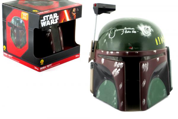 Jeremy Bulloch Signed Star Wars Boba Fett Disney Collector's Edition Mask - In Box-0