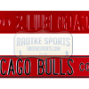 Chicago Bulls Court Officially Licensed Authentic Steel 36x6 Black & Red NFL Street Sign-0