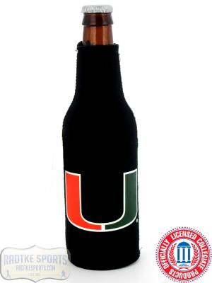 Miami Huricanes Officially Licensed 12oz Neoprene Bottle Huggie-0