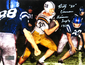 "Billy Cannon Signed LSU Tigers Iconic 8x10 Color Photo with ""Heisman Trophy 1959 - CHOF"" Inscription-0"