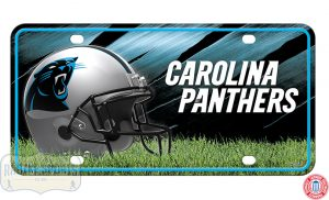 Carolina Panthers Officially Licensed NFL Metal License Plate-0