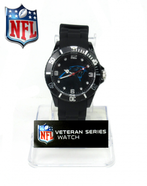 Carolina Panthers Officially Licensed Game Time Veteran Series Mens Watch-0