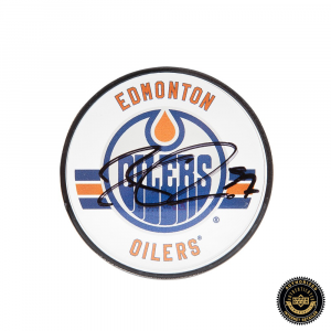 Connor McDavid Signed Edmonton Oilers Acrylic Hockey Puck-0