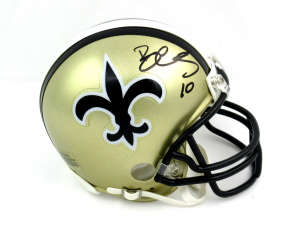 Brandin Cooks Signed New Orleans Saints Riddell Throwback NFL Mini Helmet-0