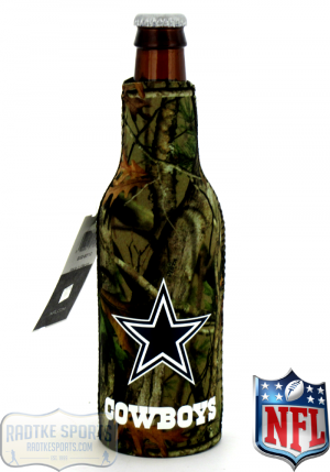 Dallas Cowboys Officially Licensed 12oz Neoprene NFL Can Huggie - Camo-0