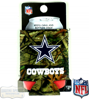 Dallas Cowboys Officially Licensed 12oz Neoprene Can Huggie - Camo-0