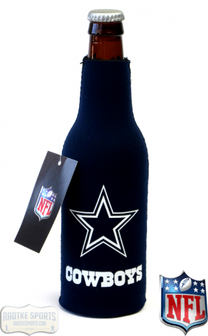Dallas Cowboys Officially Licensed 12oz Neoprene Bottle Koozie-0
