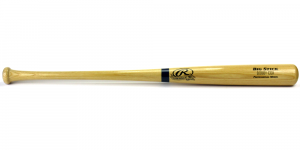 "Rawlings Big Stick Deluxe MLB Blonde Bat with ""Bobby Cox"" Engraving - Atlanta Braves-0"