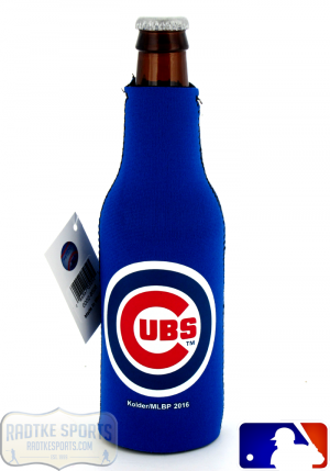 Chicago Cubs Officially Licensed 12oz Neoprene MLB Bottle Huggie-0