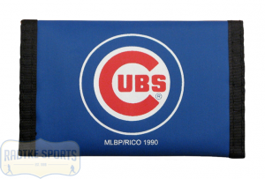 Chicago Cubs Officially Licensed MLB Nylon Wallet-0