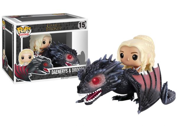 Pop! Rides Game of Thrones Daenerys & Drogon #15 In-Box Action Figure-0