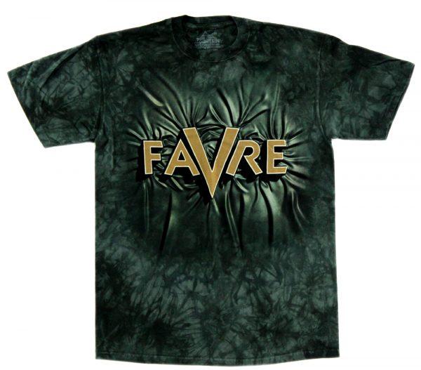 Brett Favre Dark Green Tie-Die Unisex T-Shirt-0