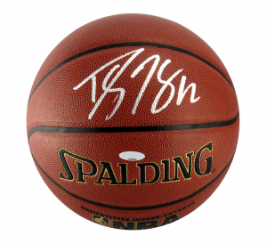 Dwight Howard Signed Spalding Indoor NBA Basketball - Tristar - Atlanta Hawks-0