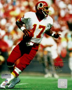 "Doug Williams Signed Washington Redskins 8x10 NFL Photo with ""SB XXII MVP"" Inscription-0"