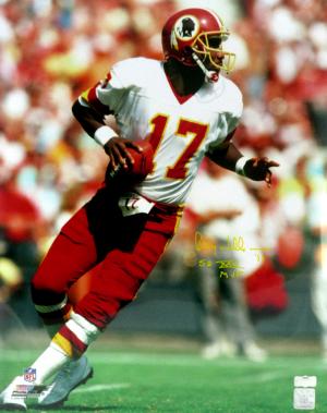 "Doug Williams Signed Washington Redskins 16x20 NFL Photo with ""SB XXII MVP"" Inscription-0"