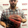 Evan Gattis Signed MLB Atlanta Braves 2013 Game Used Mizuno Catchers Gear Set-26252