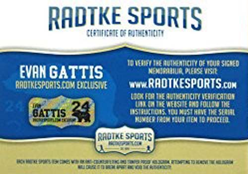 Evan Gattis Signed MLB Atlanta Braves 2013 Game Used Mizuno Catchers Gear Set-26256