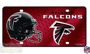 Atlanta Falcons Officially Licensed NFL Metal License Plate-0