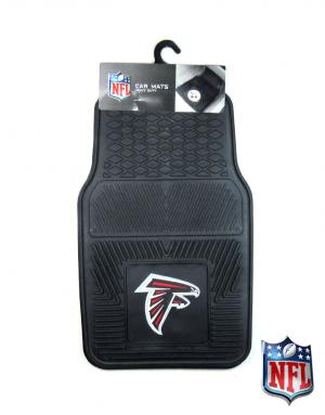 Atlanta Falcons Officially Licensed 17x27 Heavy Duty Vinyl NFL Car Mats Set-0