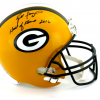 "Brett Favre Signed Green Bay Packers Riddell Full Size NFL Helmet with ""Hall of Fame 2016"" Inscription - LE #1 of 444-9356"