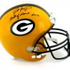"Brett Favre Signed Green Bay Packers Riddell Full Size NFL Helmet with ""Hall of Fame 2016"" Inscription - LE #44 of 444-9368"