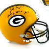 "Brett Favre Signed Green Bay Packers Riddell Full Size NFL Helmet with ""Hall of Fame 2016"" Inscription - LE #444 of 444-0"