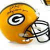 "Brett Favre Signed Green Bay Packers Riddell Full Size NFL Helmet with ""Hall of Fame 2016"" Inscription - LE #44 of 444-0"