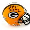 "Brett Favre Signed Green Bay Packers Riddell NFL Mini Helmet with ""Hall of Fame 2016"" Inscription - LE #4 of 444-9415"