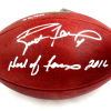 """Brett Favre Signed Green Bay Packers Wilson Authentic NFL Football with """"Hall of Fame 2016"""" Inscription - LE of 444-13090"""