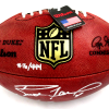 """Brett Favre Signed Green Bay Packers Wilson Authentic NFL Football with """"Hall of Fame 2016"""" Inscription - LE of 444-13091"""