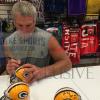 """Brett Favre Signed Green Bay Packers Riddell NFL Mini Helmet with """"GBP HOF 2015"""" Inscription-5484"""