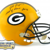 "Brett Favre Signed Green Bay Packers Riddell Full Size NFL Helmet with ""Hall of Fame 2016"" Inscription - LE of 444-0"