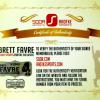 "Brett Favre Signed Green Bay Packers Hall of Fame Speech 16x20 Photo with ""HOF 16"" Inscription-14054"